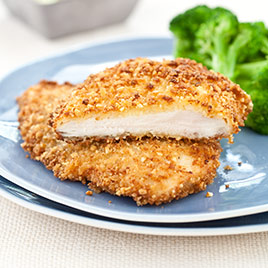 Almond-Crusted Chicken