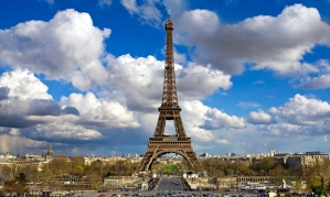 The Eiffel Tower: derided by writer Guy de Maupassant as 'useless and monstrous'.