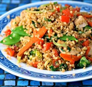 quinoa stirfry