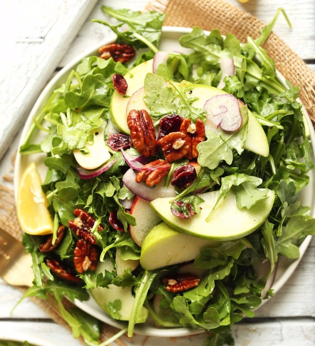 20-minute-easy-apple-arugula-salad-with-pecans-and-lemon-vinaigrette-a-healthy-hearty-side-dish-for-fall-and-winter-salad-recipe-vegan-healthy-dinner-meal-minimalistbaker-e1504631520593.jpg